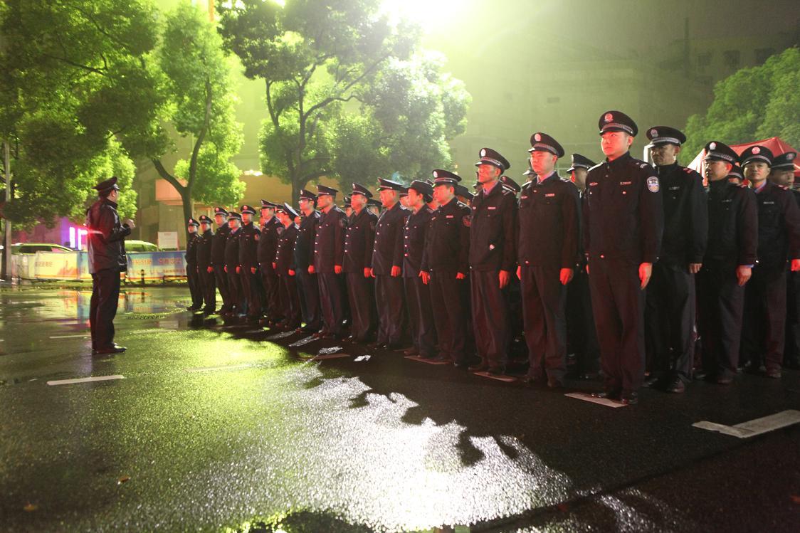 2016年10月宜昌马拉松赛事安保工作